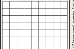 Схема расчета плитки для потолка