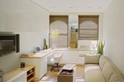 Мебель в небольшом интерьере гостиной