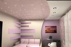 Подвесной потолок в гостиной