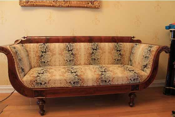Обтяжка дивана