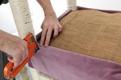 Мебельный степлер для обивки стула