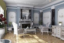 Стиль рококо Чиппендейла в интерьере