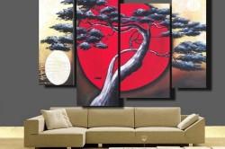 Как красиво повесить картины на стены: советы и рекомендации