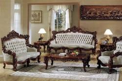 Интерьер гостиной в старинном стиле