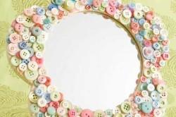 Декор рамы зеркала