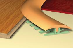 Комбинированный пол: зонирование помещения, способы состыковки