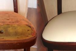 Обтяжка стула