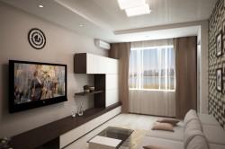 Дизайн маленькой залы