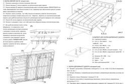 Инструкция по сборке дивана аккордеон
