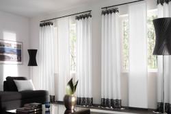 Выбор стиля штор для гостиной