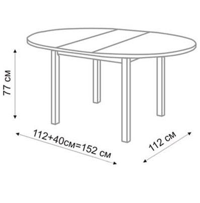 Стол обеденный раздвижной  чертежи и схемы сборки 150