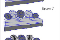 Варианты обивки дивана
