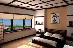 Потолочное освещение в японском стиле
