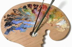 Роспись потолка своими руками: технология и инструменты