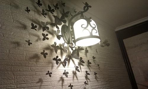 Декор интерьера стен