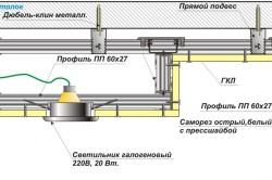 Схема открытой системы подсветки