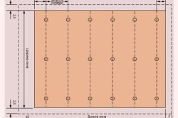 Схема расчета ткани для шторы