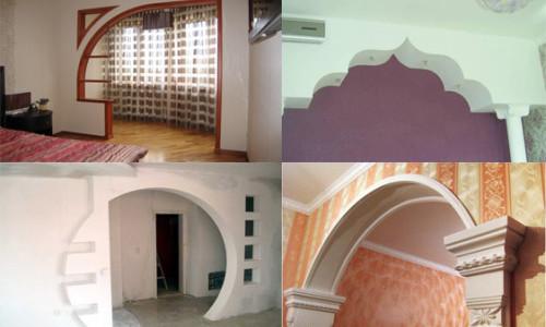Варианты дизайна арок в квартире