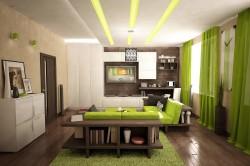 Подбор цвета отделки гостиной под бежевую мебель