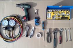 Инструменты для демонтажа кондиционера