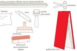 Самоклеющиеся обои: как клеить и сделать ровное покрытие?