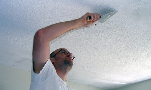 Как удалить побелку со стен быстро и качественно: нескольких способов