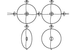 Схема плетения дисков для украшения стены