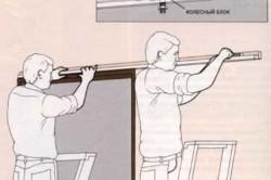 Подвесные двери своими руками: рекомендации