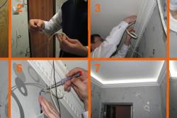 Последовательность подключения ленты со светодиодами