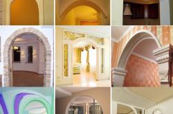 Как сделать вместо двери арку: изготовление каркаса