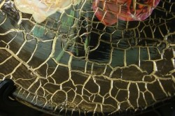 Украшение стола кракелюром