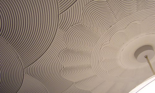 Плитка для потолка и декор к ней