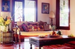 Пример гостиной в индийском стиле
