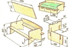 Вариант сборки дивана