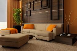 Светлая бежевая мебель