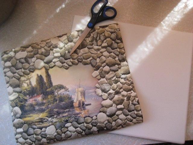 Картинки сделано из подручных материалов