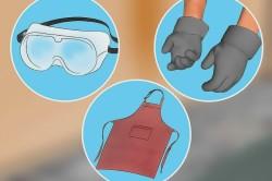 Защитное снаряжение на руки, тело и глаза