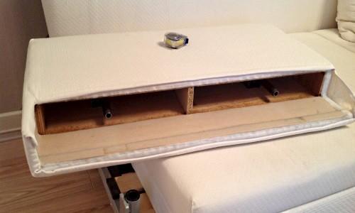 Сборка спинки для дивана