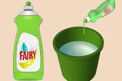 Очистка поверхности с помощью моющего средства