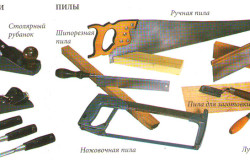 Инструменты для изготовления кресла