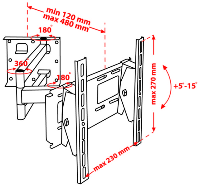 Как сделать крепление на стену для телевизора