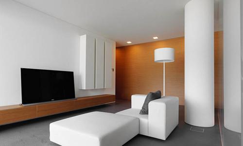 Гостиные дизайн маленькая комната 154