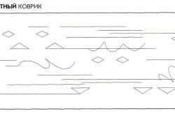 Схемы для вышивания чехлов на табурет