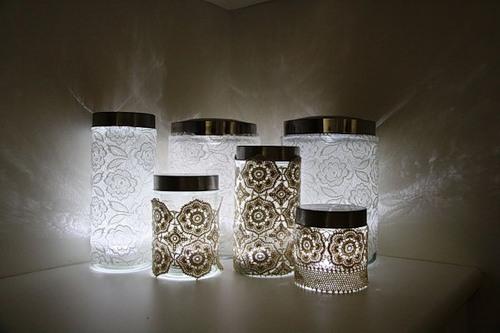 Светильники декоративные своими руками