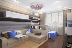 Дизайн малогабаритной гостиной