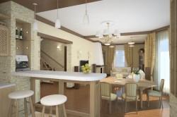 Недостатки совмещенной гостиной с кухней