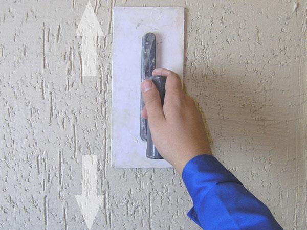 Декоративная шпаклевка короед своими руками