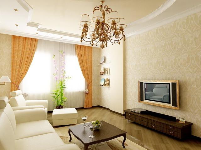 Ремонт квартир дизайн интерьер зал