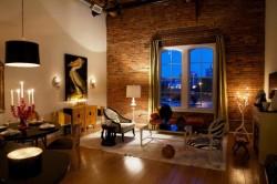 Декорирование комнаты освещением