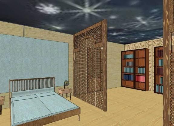 Проект зонирования гостиной